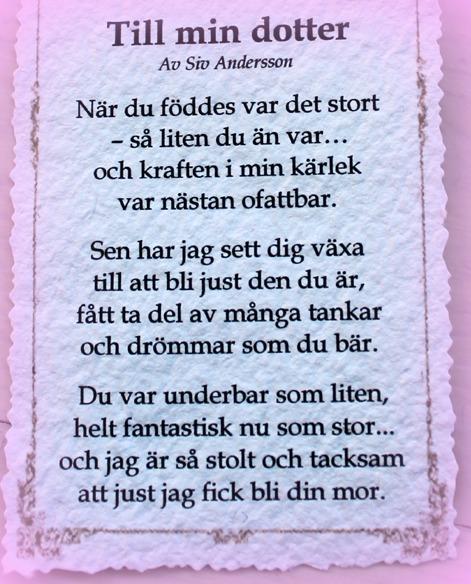 grattis dikt till min dotter Grattis Cecilia!! « grattis dikt till min dotter